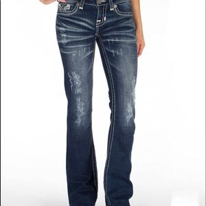 Big Star Vintage Liv Boot Stretch Jeans Sz 25